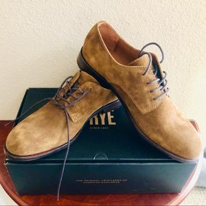 Men's Frye® shoes - brand new suede tan leather.